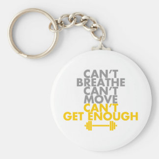 "Yellow ""Get Enough"" Keychains"