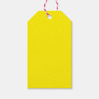 Yellow Pack Of Gift Tags