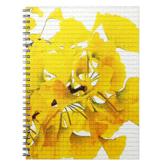Yellow Ginko Leaves Notebook