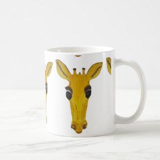 Yellow Giraffe Mugs
