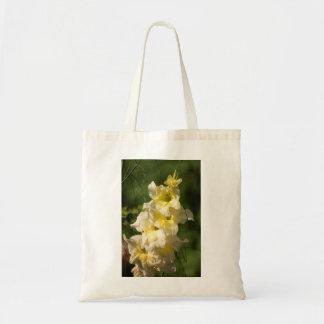 Yellow Gladiolus Flower Spike Tote Bag