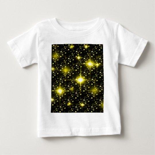 yellow-glitter1.jpg baby T-Shirt