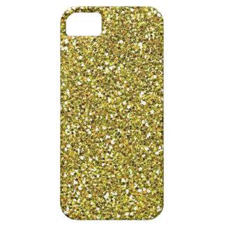 yellow glitter iphone 5 case