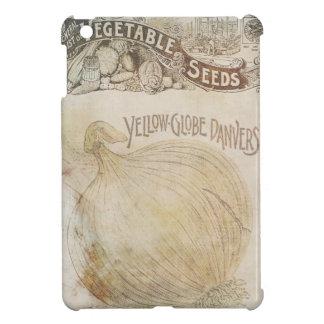 Yellow Globe Danvers Vegetable Seeds Vintage iPad Mini Cases