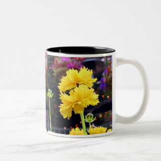 Yellow Glory Two-Tone Coffee Mug