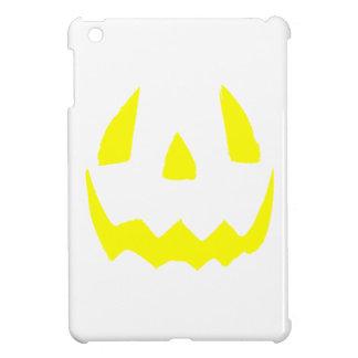 Yellow Glow Face Happy Halloween Case For The iPad Mini