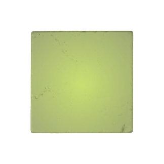 Yellow Glow Stone Magnet