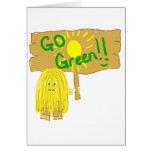 Yellow go green card