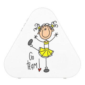 Yellow Go Team Cheerleader Speaker