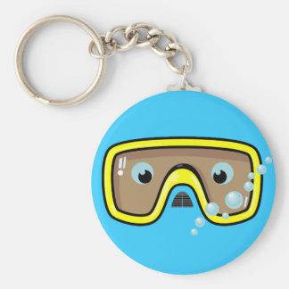 Yellow Goggles Keychain