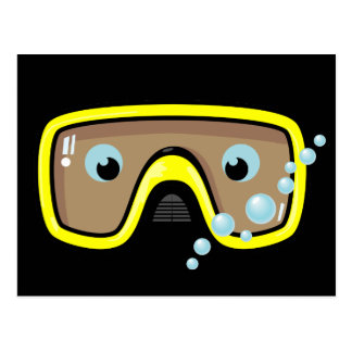 Yellow Goggles Post Cards