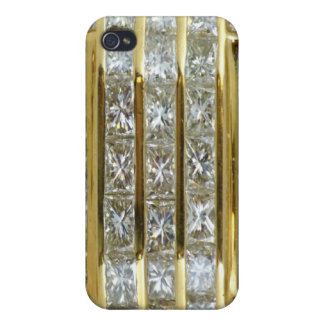 Yellow Gold and Diamonds Fantasy Speck iPhone 4 Ca iPhone 4/4S Case