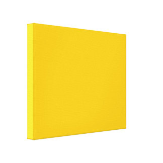Yellow Gold Gallery Wrap Canvas