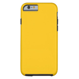 Yellow Gold Tough iPhone 6 Case
