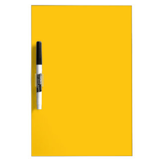 Yellow Gold Dry-Erase Board