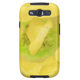 Yellow Gold Floral Nectar Samsung Galaxy S3 Cases