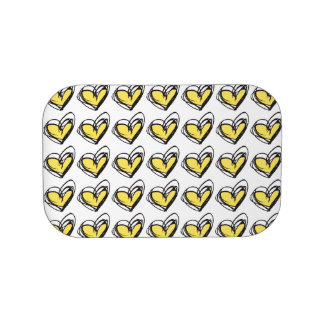 Yellow/Gold Heart Lunchbox Faceplates