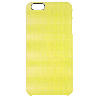 Yellow Gold Microdot Patterned Uncommon Clearly™ Deflector iPhone 6 Plus Case