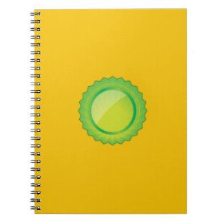 Yellow Gold Notebook
