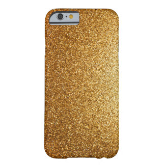 Yellow Gold Rush Barely There iPhone 6 Case