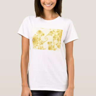 Yellow Gold Seahorse Herd T-Shirt