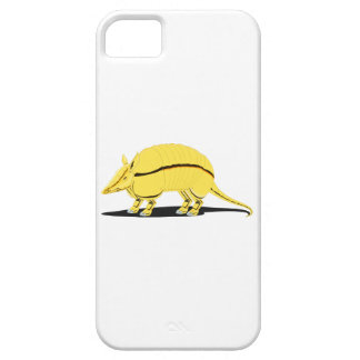 Yellow/Golden Armadillo with Black Stripe on Side iPhone 5/5S Case
