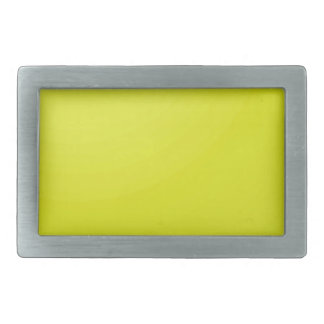 Yellow Golden Color Shade Blanks: Add text image Belt Buckle