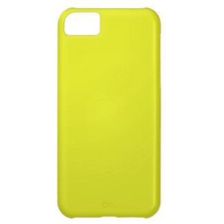 Yellow Golden Color Shade Blanks: Add text image iPhone 5C Case