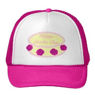Yellow Gotcha Day Cake Trucker Hat