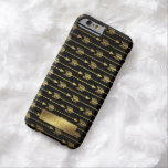 Yellow Gradient and Black Arrows Pattern Barely There iPhone 6 Case