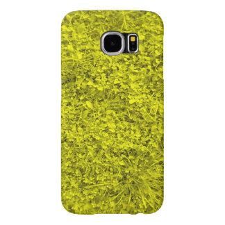 Yellow grass samsung galaxy s6 case