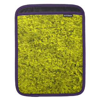 Yellow Grass Sleeves For iPads