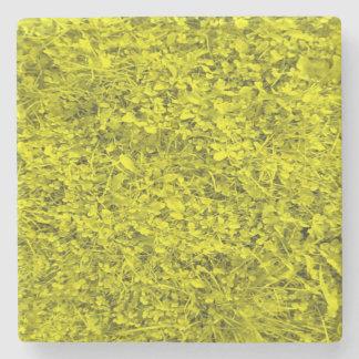 Yellow Grass Stone Coaster