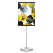 Yellow, Gray and Black Interactions Desk Lamp
