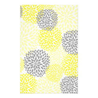 Yellow And Gray Dahlias Gifts On Zazzle