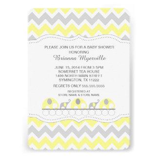 6 000 yellow baby shower invitations yellow baby shower