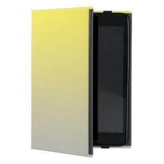 Yellow & Gray Ombre Case For iPad Mini