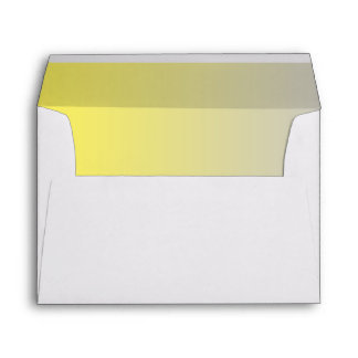 Yellow & Gray Ombre Envelope