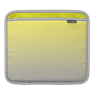 Yellow & Gray Ombre Sleeve For iPads