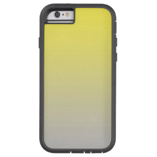 Yellow & Gray Ombre Tough Xtreme iPhone 6 Case