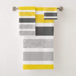 Yellow And Gray Bathroom Accessories, Grey And Yellow Bathroom Accessories