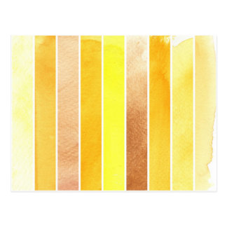 yellow great watercolor background - watercolor postcard