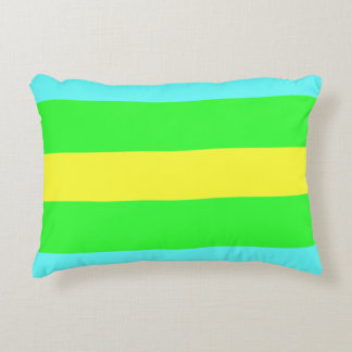 Yellow Green Decorative Pillows : Blue And Yellow Accent Pillows Zazzle
