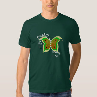Yellow & Green Butterfly T-shirt