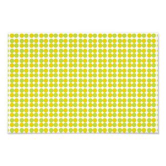 Yellow green circles pattern photo art