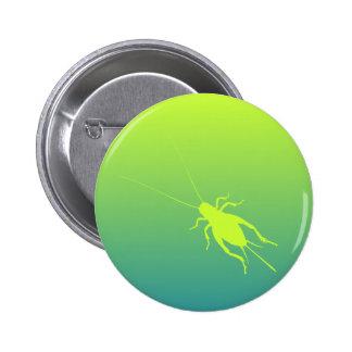 Yellow Green Cricket Button
