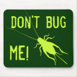 Yellow Green Cricket Mouse Pad