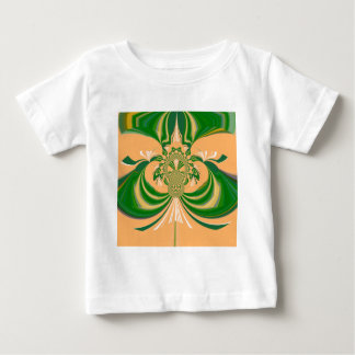 Yellow Green Design. Baby T-Shirt