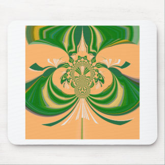 Yellow Green Design. Mouse Pad