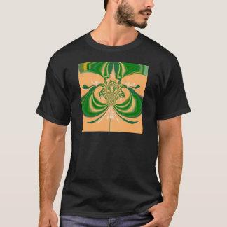Yellow Green Design. T-Shirt